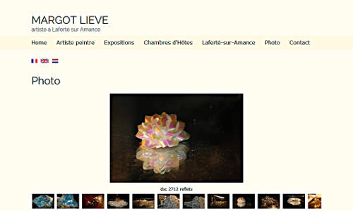 Website Margot Lieve