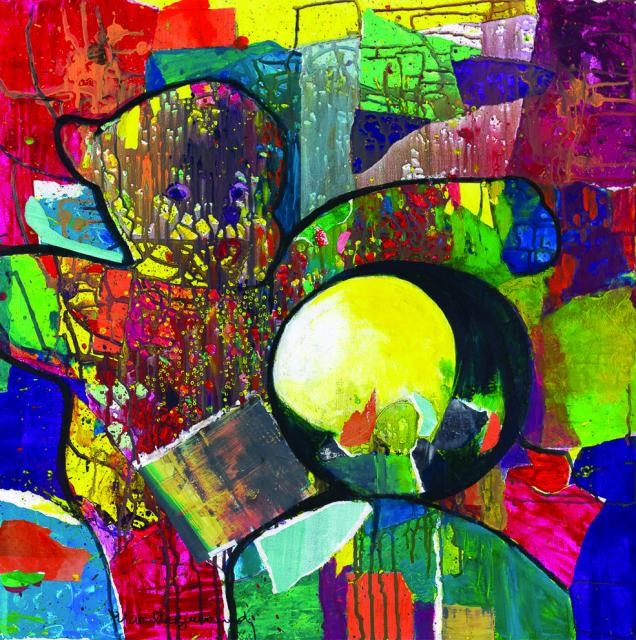 2015 Art au Vert, 8. Marcelle Guinand