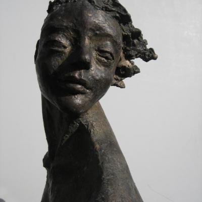 vrouwelijke kop/ boegbeeld